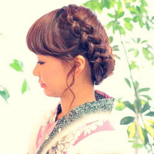 着物 髪型 結婚式 着物 髪型 編み込み : kimono-aiwa.com
